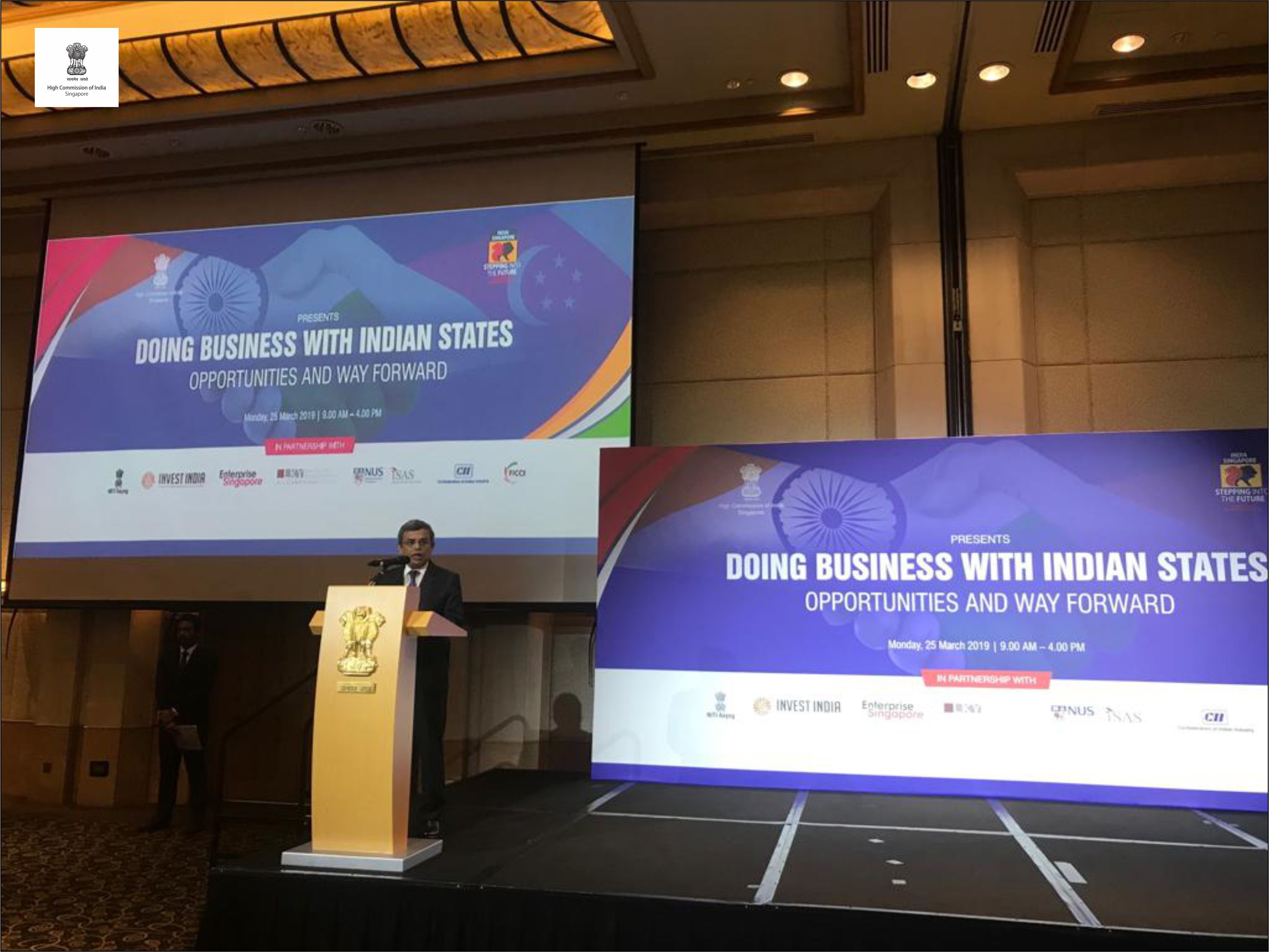 "Seminar "" Doing Business with Indian States"" 25th March 2019"